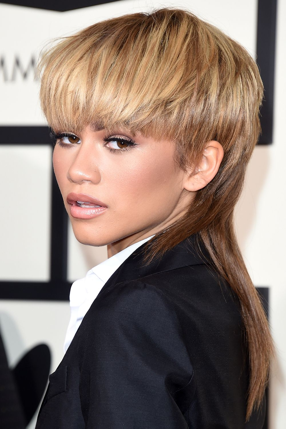 women with mullets - celebrities with mullets history