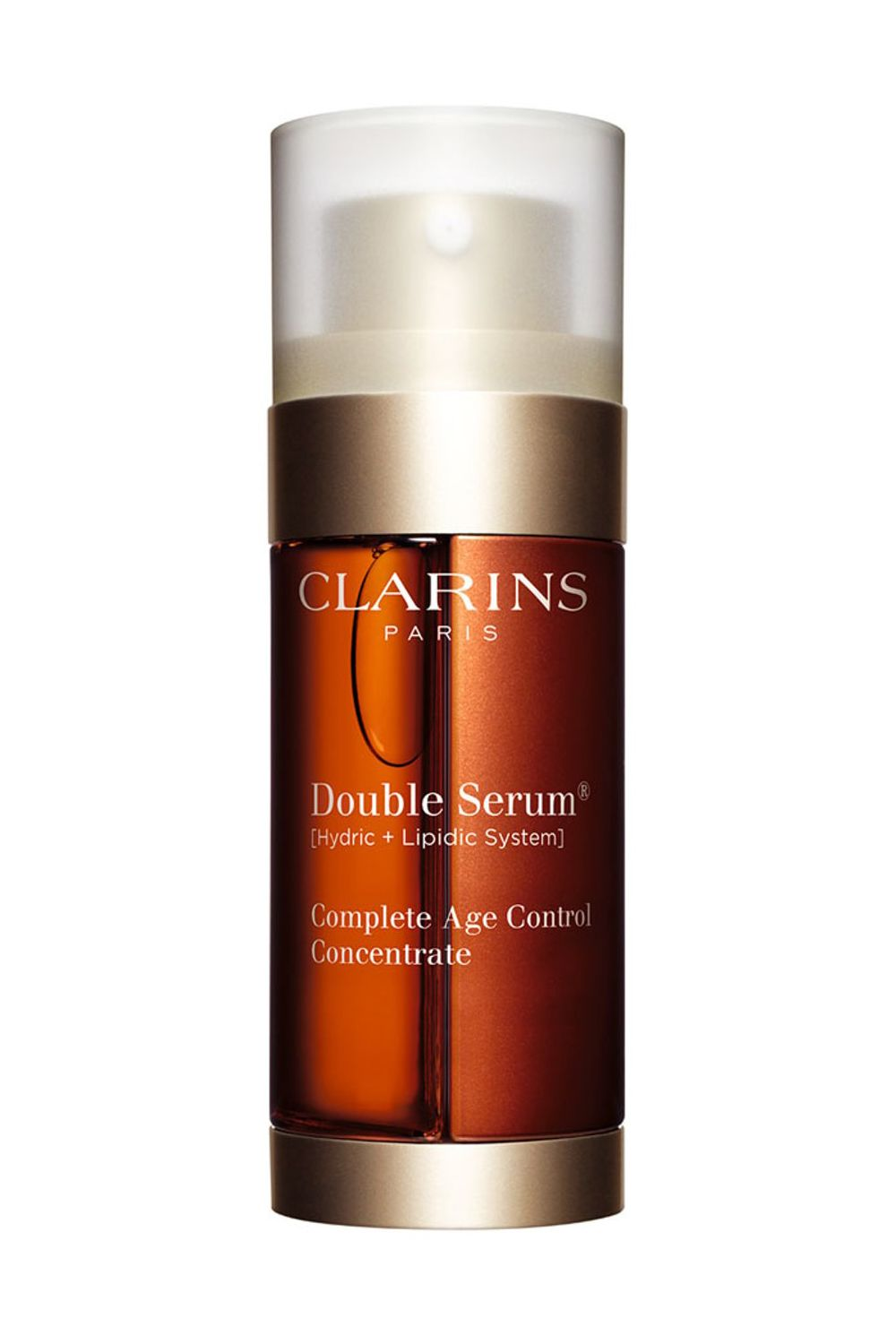 """<p>TWENTY plant extracts! For keeping you young-looking forever even though you've been having a midlife crisis since age 14.</p><p>$119, <a href=""""http://shop.nordstrom.com/s/clarins-double-serum-complete-age-control-concentrate/3431180"""" target=""""_blank"""" data-tracking-id=""""recirc-text-link"""">shop.nordstrom.com</a>.</p>"""