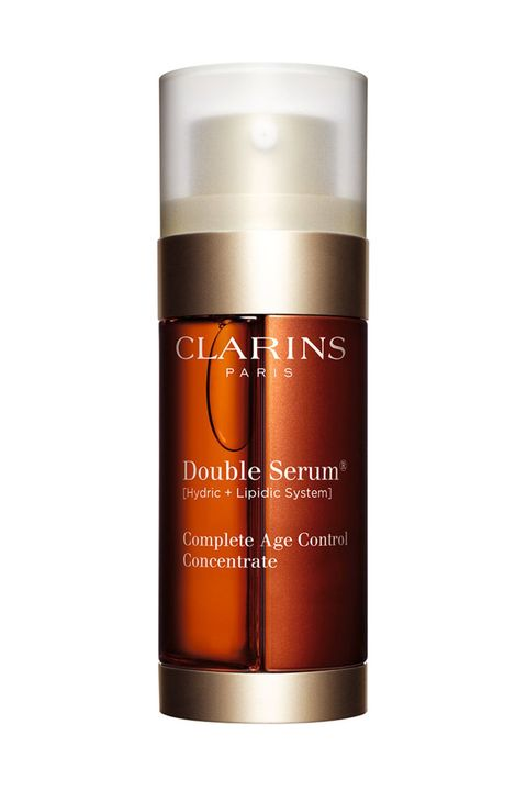 """<p>TWENTY plant extracts! For keeping you young-looking forever even though you've been having a midlife crisis since age 14.&nbsp;</p><p>$119, <a href=""""http://shop.nordstrom.com/s/clarins-double-serum-complete-age-control-concentrate/3431180"""" target=""""_blank"""" data-tracking-id=""""recirc-text-link"""">shop.nordstrom.com</a>.</p>"""