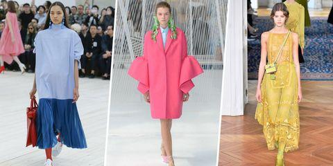 Sleeve, Textile, Style, Pink, Magenta, Fashion, Pattern, Street fashion, One-piece garment, Fashion model,