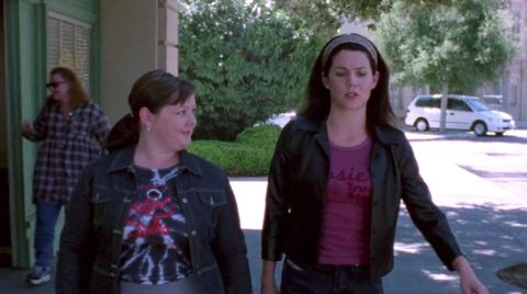<p>At first, Lorelai's obsession with headbands&nbsp;seemed so sweet and innocent. So sweet and innocent, in fact,&nbsp;we barely noticed that this jacket was clearly made for a person with much shorter arms.&nbsp;But then things took a dark turn....</p>
