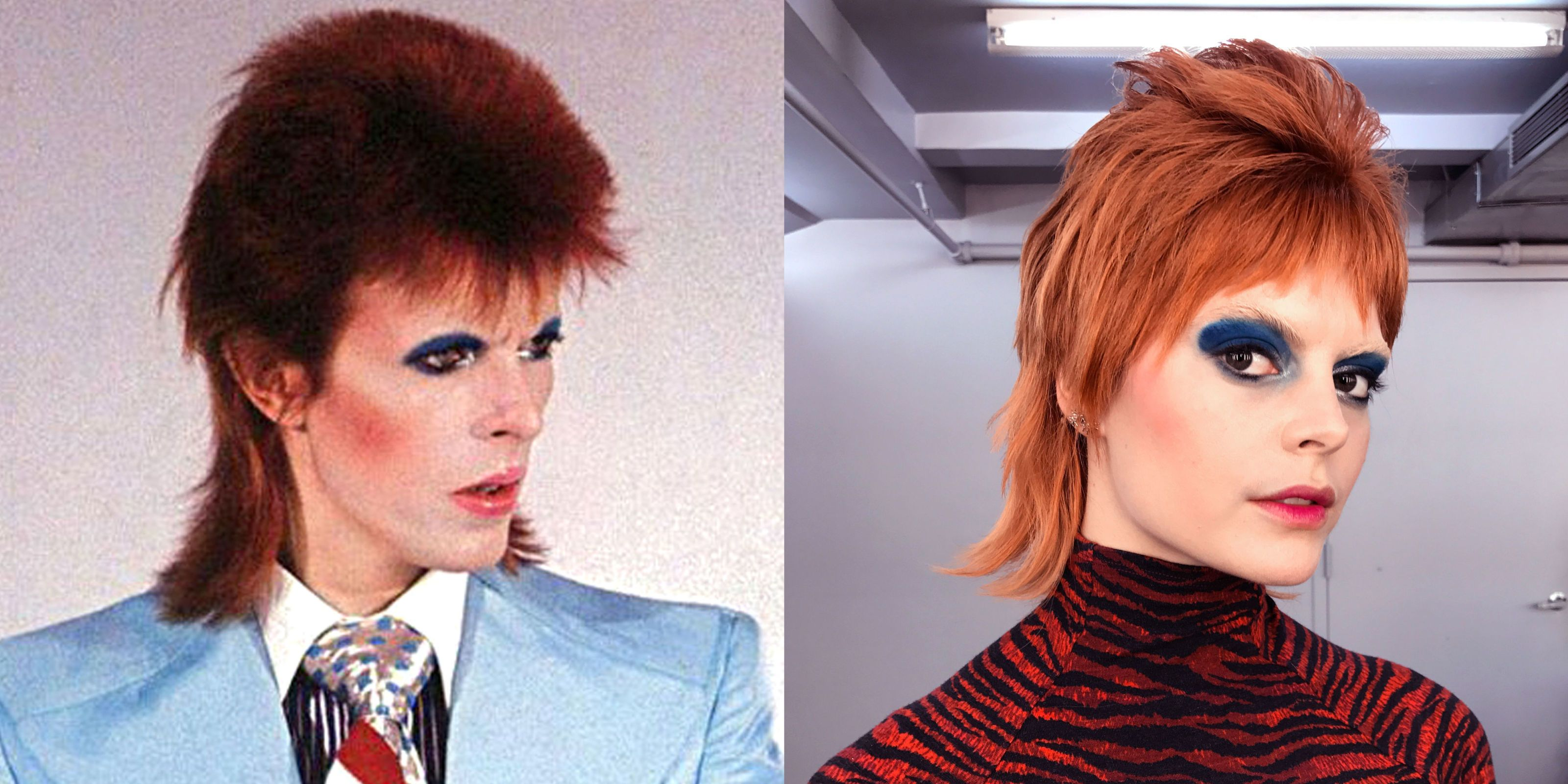 No matter what incarnation dressing up as David Bowie is all or nothing. You donu0027t half-ass Starman. The devil is always in the celestial details.  sc 1 st  Marie Claire & How to Dress Like David Bowie for Halloween - David Bowie Costume ...