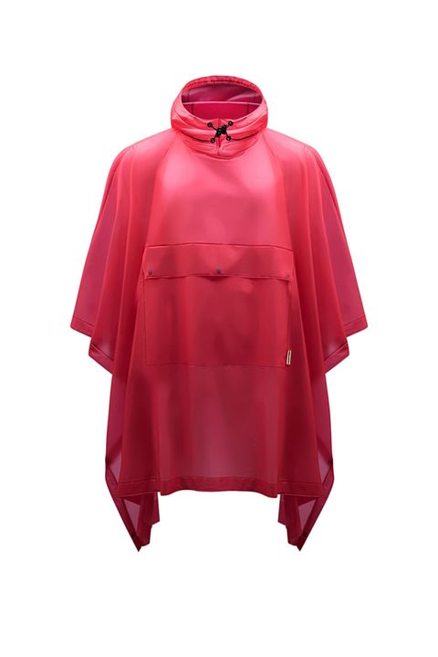 "<p>Beats the trash bag maneuver when you forget to pack an umbrella, amirite? Bonus: It comes in a zillion (okay, 11) colors.&nbsp;</p><p><strong data-redactor-tag=""strong"" data-verified=""redactor"">Hunter Women's Original Vinyl Smock, $230; </strong><a href=""http://us.hunterboots.com/female-outerwear/womens-original-vinyl-smock/pink/2485"" target=""_blank"" data-tracking-id=""recirc-text-link""><strong data-redactor-tag=""strong"" data-verified=""redactor"">hunterboots.com</strong></a></p>"