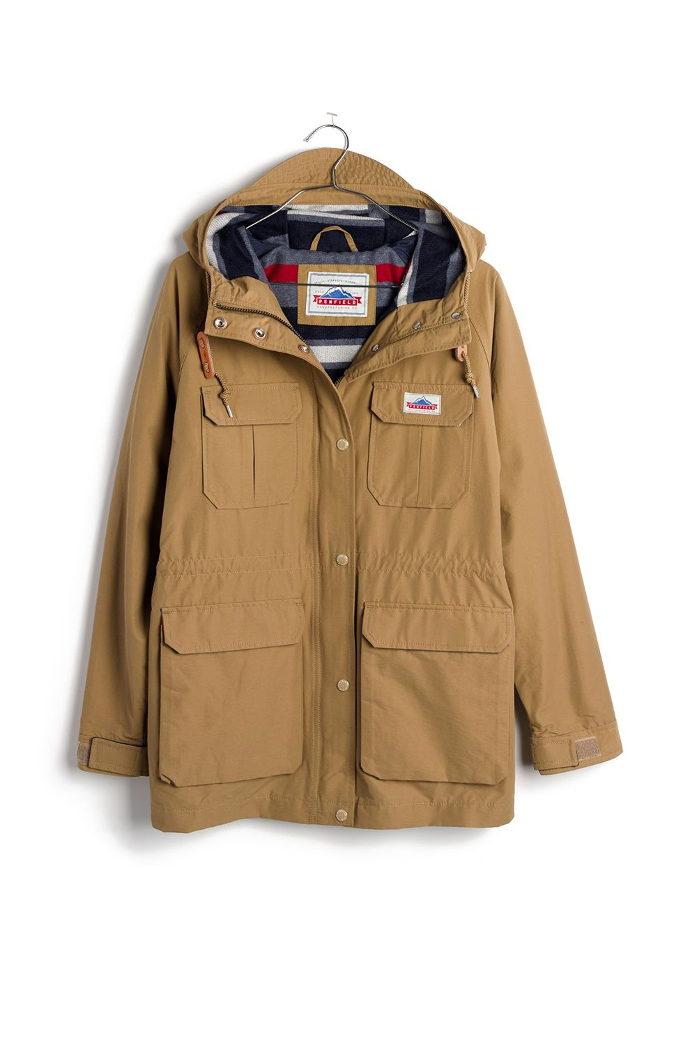 """<p>This Madewell collab with Penfield (a Massachusetts-based company that makes legit outdoor goodies) produced pretty much the perfect Parka: a heritage-inspired pick with fleece-lined pockets and a bold striped lining that looks good on and off a trail.</p><p><strong data-redactor-tag=""""strong"""" data-verified=""""redactor"""">Madewell x Penfield Kasson Parka in Tan, $200; </strong><a href=""""https://www.madewell.com/madewell_category/JACKETSANDOUTERWEAR/Jackets/PRDOVR~F5972/F5972.jsp"""" target=""""_blank"""" data-tracking-id=""""recirc-text-link""""><strong data-redactor-tag=""""strong"""" data-verified=""""redactor"""">madewell.com</strong></a></p>"""