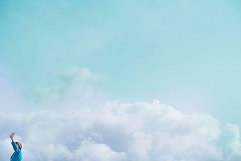 Blue, Sky, Cloud, Aqua, Azure, Teal, Turquoise, Meteorological phenomenon,