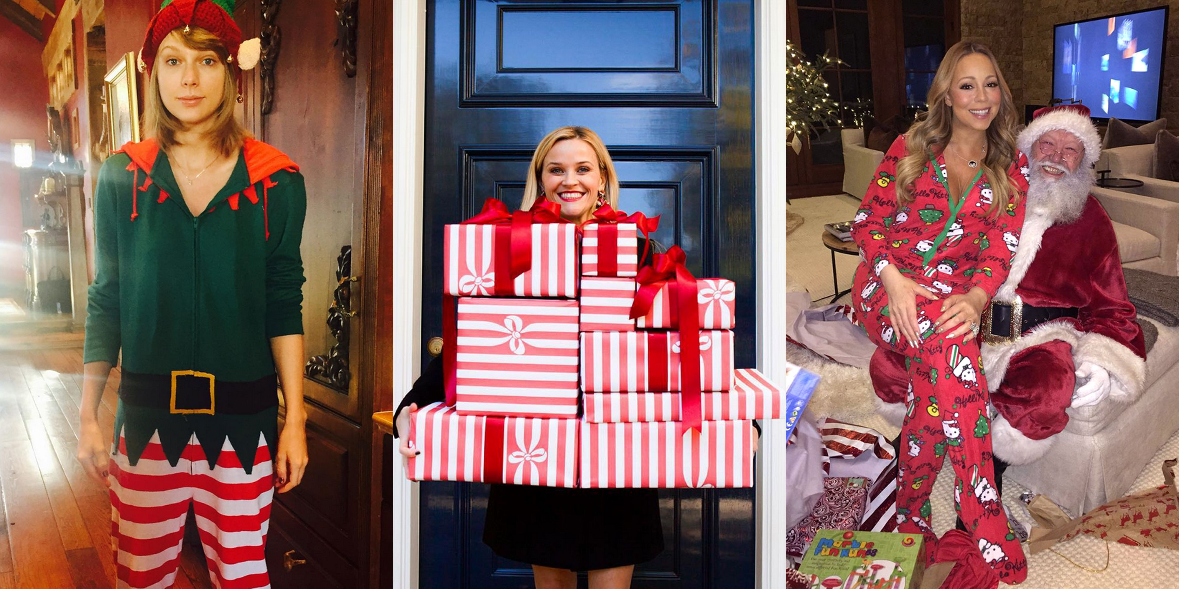 Celebrity Holiday Pics - Celebrities at Christmas Photos