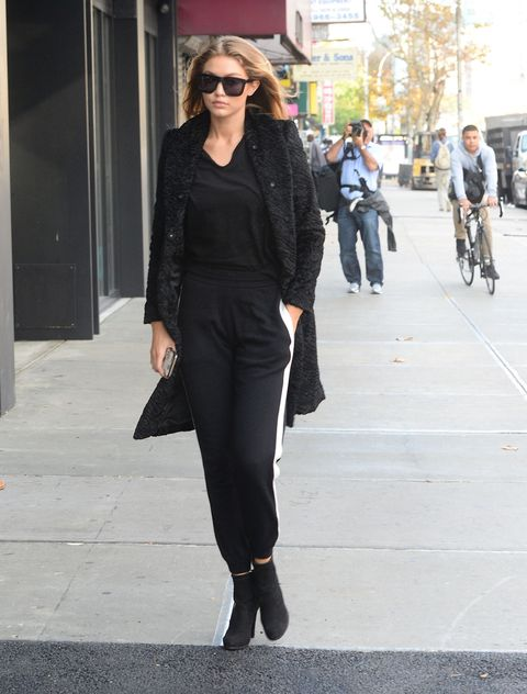 <p>What's the opposite of burying the lede? Because I'm just going to blurt out&nbsp;the thesis now:&nbsp;There is really no distinction between gym and street and wherever-you-want anymore, thanks to a loosening of social and sartorial norms and celebrities like Gigi Hadid treating sweats as regular trousers.&nbsp;</p>