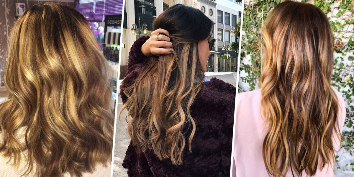 Best Balayage For Brunettes Tiger Eye Hair Trend