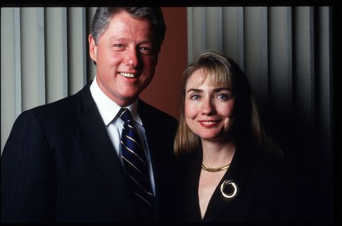 <p>Hillary became the first FLOTUS to have an office in the West Wing.&nbsp;</p>