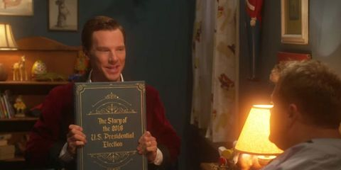 Benedict Cumberbatch Reading an Election Bedtime Story Is What You Need Today