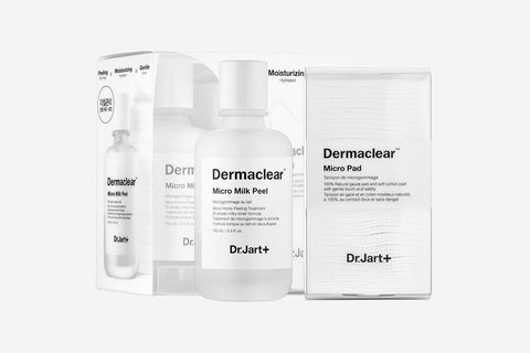 "<p> If you have sensitive skin, peels probably make you a little antsy. But fear not as you can still get in on the exfoliation action. This gentle peel, which helps correct uneven texture and shrink pores, has soothing and anti-irritating coconut milk.</p>  <p>Dr. Jart+ Dermaclear Micro Milk Peel, $42; <a href=""http://bit.ly/2ghKIr4"" target=""_blank"" data-tracking-id=""recirc-text-link"">sephora.com</a>.</p>"