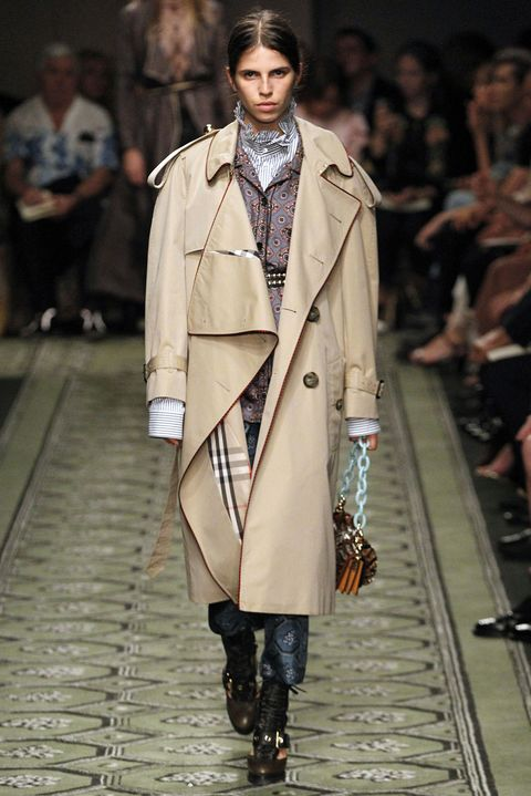 <p>If you thought a Burberry trench would be too flimsy for the winter, you would be right. But worn over a shirt and a thinner jacket (those fitted quilted ones will do nicely), it remains a chic, streamlined topper, only with extra cold protection. Remember: The final layer is all that matters. </p>