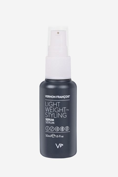 "<p>If your hair is dirty and needs a boost, this lightweight serum works for all hair textures (especially curly ones) for a quick refresh i.e. more shine and definition. It's also a heat protectant if you're doing touch-ups with a hot tool.</p>  <p>Vernon François Lightweight Styling Serum, $37; <a href=""http://bit.ly/2gcVN8z"" target=""_blank"" data-tracking-id=""recirc-text-link"">net-a-porter.com</a>.</p>"