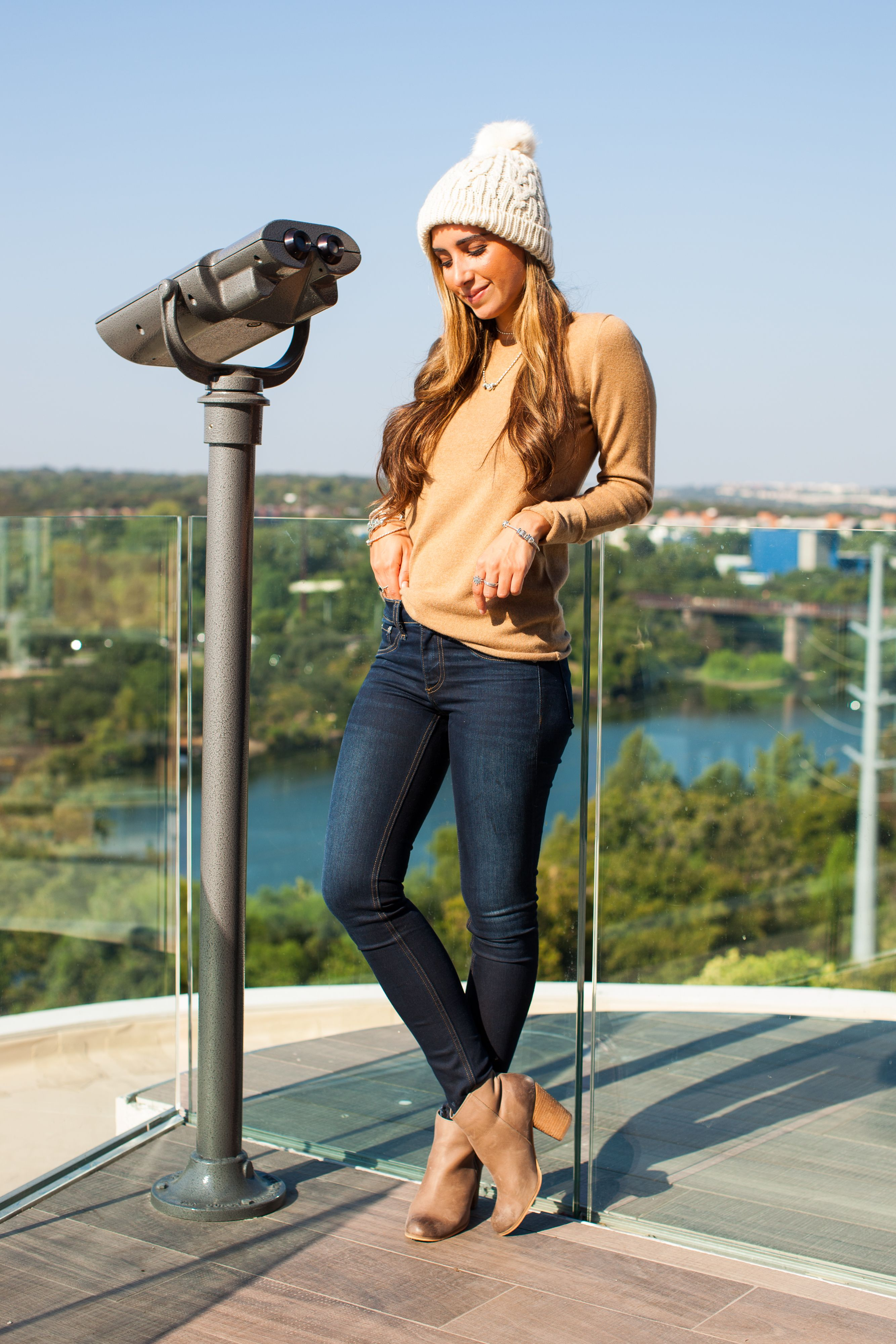 "<p>Austin-based style blogger <a href=""https://www.instagram.com/thedarlingdetail/?hl=en"" target=""_blank"" data-tracking-id=""recirc-text-link"">Jessi Afshin</a> is passionate about her hometown (she studied at University of Texas), regularly referencing the city's coolest hangouts and chic new openings on her blog, <a href=""http://www.thedarlingdetail.com/"" target=""_blank"" data-tracking-id=""recirc-text-link"">The Darling Detail</a>. With a knack for mixing stylish looks with practical aspects (like heels you can actually walk in), she was our go-to girl for everything Austin. </p>  <p><em data-redactor-tag=""em"">PANDORA Jewelry Holiday Collection, price varies, <a href=""http://estore-us.pandora.net/en-us/inspiration/the-holiday-collection/?cid=BrndMedia_Drop6_Dec_2016_MarieClaire_CustomContent_NativeInfluenceArticles_HolidayCollection_InspirationPage"" target=""_blank"" data-tracking-id=""recirc-text-link"">pandora.net</a></em></p>"