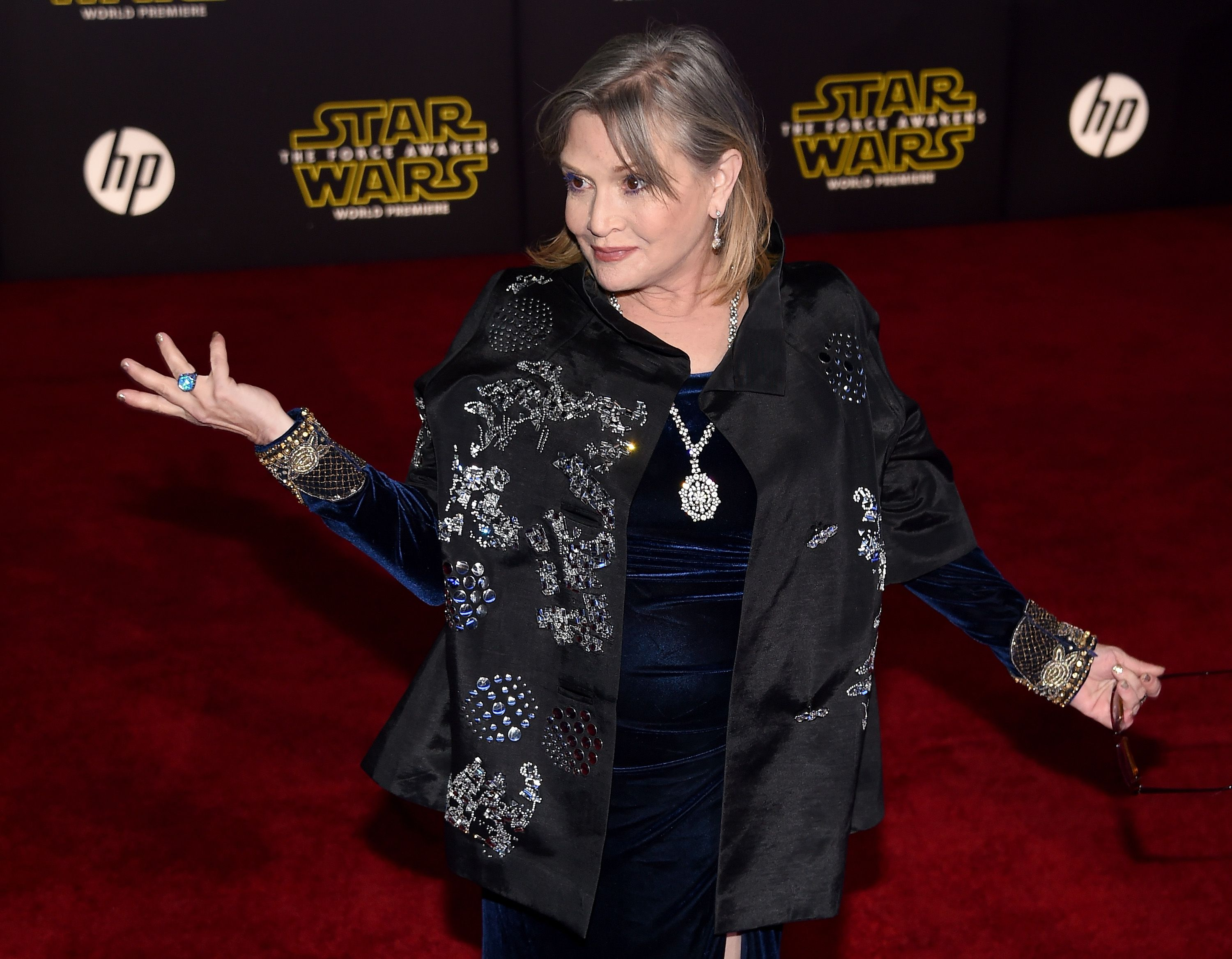 e446aeeb0e6 Carrie Fisher Says  Star Wars  Only Wanted to Hire