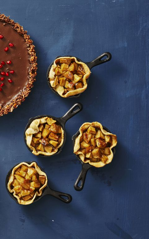 """<p>Single-serving pies that you don't have to share? There's something to be thankful for.</p>  <p><a href=""""http://www.goodhousekeeping.com/food-recipes/a41081/skillet-apple-minis-recipe/"""" target=""""_blank""""><em data-redactor-tag=""""em"""" data-tracking-id=""""recirc-text-link"""">Get the recipe for Skillet Apple Minis »</em></a></p>"""
