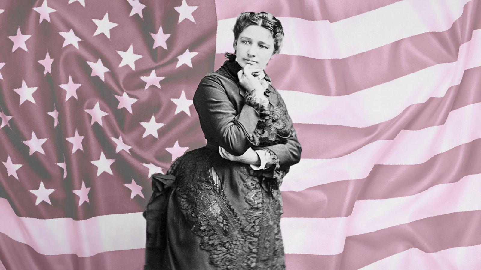 """Meet """"Mrs. Satan,"""" AKA America's First Female Presidential Candidate"""