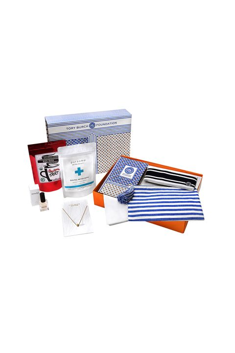 """<p><strong data-redactor-tag=""""strong"""">What She's Giving: </strong> </p>  <p>Tory Burch Foundation Seed Box ($98; <a href=""""https://www.toryburch.com/tory-burch-foundation-seed-box/190041111305.html"""" data-tracking-id=""""recirc-text-link"""">toryburch.com</a>) </p>  <p>""""One present I know I'm giving nearly everyone on my list this year is our Seed Box, a curated assortment of incredible products from women-owned small businesses, and a great way to support women entrepreneurs.""""</p>"""