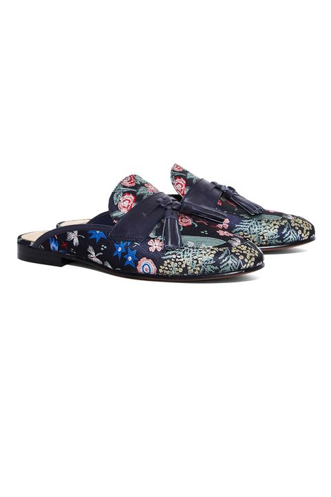"<p>Tassels, no backs, and chinoiserie—all that's pure and good about fashion right now.</p>  <p>$150, <a href=""http://www.nastygal.com/shoes-flats/sam-edelman-paris-slipon-flat"" target=""_blank"" data-tracking-id=""recirc-text-link"">nastygal.com</a>.</p>"