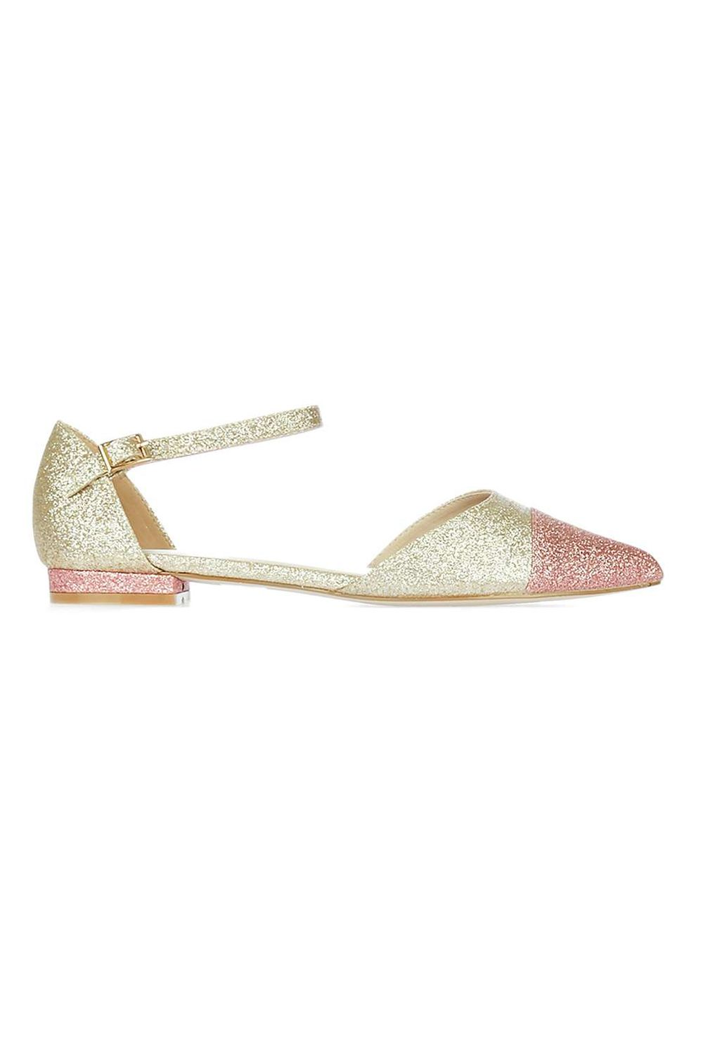 """<p>#ihavethisthingwithcaptoes #evenmoresowithglitter</p><p>$40, <a href=""""http://us.topshop.com/en/tsus/product/shoes-70484/alice-two-part-shoes-5951361?bi=20&amp&#x3B;ps=20"""" target=""""_blank"""" data-tracking-id=""""recirc-text-link"""">topshop.com</a>.</p>"""