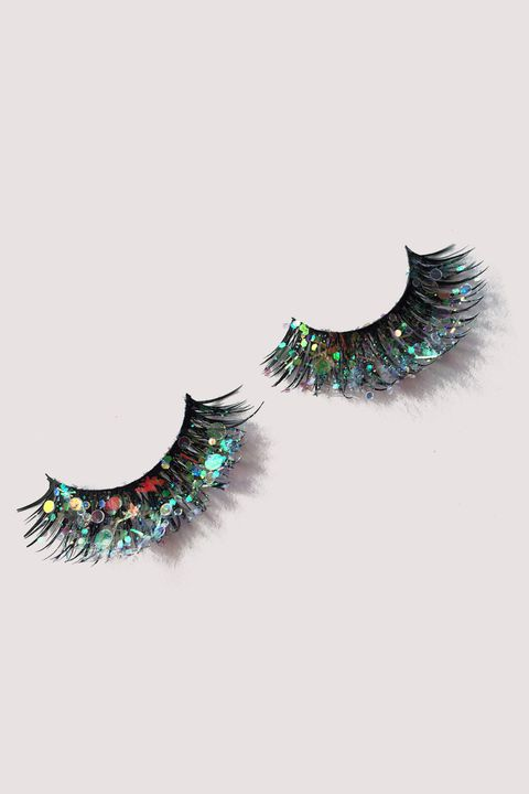 "<p>If you want to do the most, holographic-star-encrusted lashes pair nicely with <a href=""http://www.marieclaire.com/beauty/news/a16952/glitter-roots-trend/"" target=""_blank"" data-tracking-id=""recirc-text-link"">glitter roots</a>.</p>  <p>SparklePigGlitter Holographic Fairy Lashes, $8.35; <a href=""https://www.etsy.com/listing/467284670/holographic-fairy-lashes?ga_order=most_relevant&amp;ga_search_type=all&amp;ga_view_type=gallery&amp;ga_search_query=false%20lashes&amp;ref=sr_gallery_47"" target=""_blank"" data-tracking-id=""recirc-text-link"">etsy.com</a>.</p>"