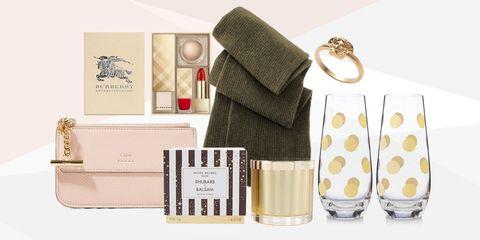Bag, Beige, Peach, Wallet, Paper product, Label, Shoulder bag, Paper, Cosmetics,