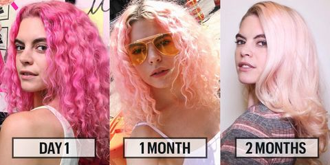Hair, Eyewear, Head, Nose, Lip, Hairstyle, Chin, Eyebrow, Pink, Style,