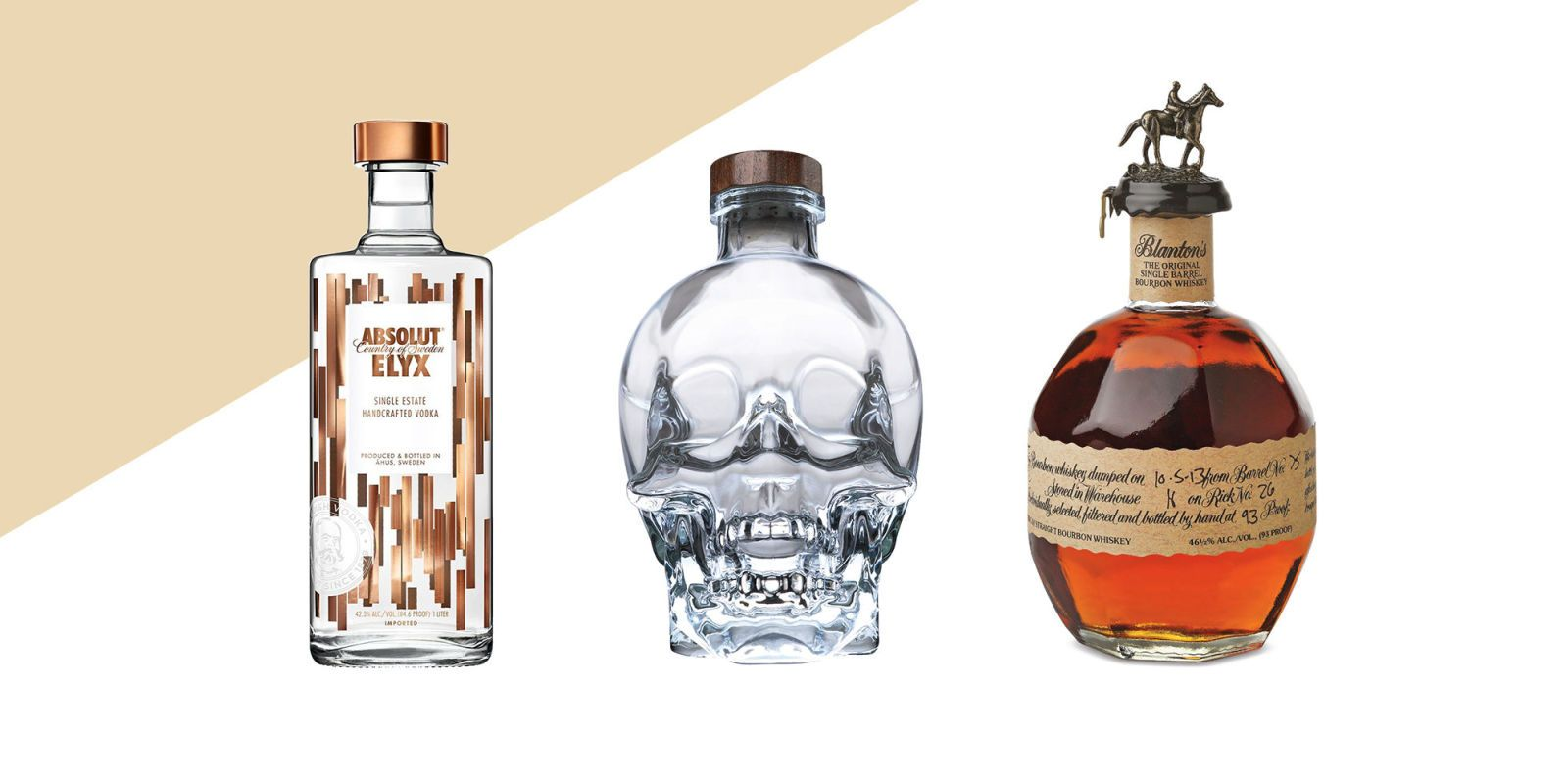 Drink Decor: The Prettiest Liquor Bottles to Have on Your Bar Cart