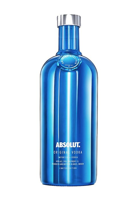 "<p>The limited-edition bottles for Absolut come in both striking metallic blue and silver.</p>  <p>$25 for 750 ml bottle or $30 for 1L bottle; <a href=""http://www.absolut.com/us/products/absolut-electrik/"" target=""_blank"" data-tracking-id=""recirc-text-link"">absolut.com</a></p>"