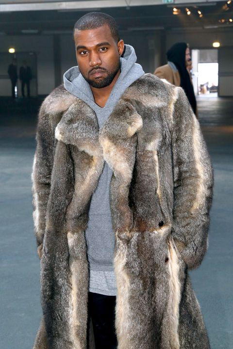Winter, Textile, Outerwear, Fur clothing, Street fashion, Natural material, Fashion show, Fashion, Animal product, Fashion model,