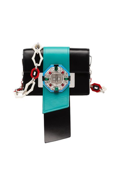 "<p>A purse that *literally* looks like a present is the perfect arm candy for any lady.<br></p><p>Coming soon to <a href=""http://www.prada.com/en.html?cc=US"" data-tracking-id=""recirc-text-link"">Prada</a>.</p>"