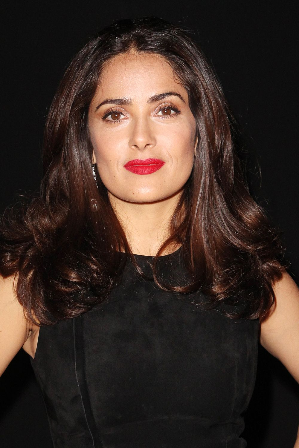 """Salma Hayek """"I don't believe in Botox, especially when [people] do it so young,"""" Hayek tells People . """"They destroy themselves. They keep telling young girls, 'Do it young, so you never get wrinkles.' No, your face is going to fall. You'll have to keep getting more and more and more each time. So if you're going to do it, I recommend doing it as late as you can."""""""