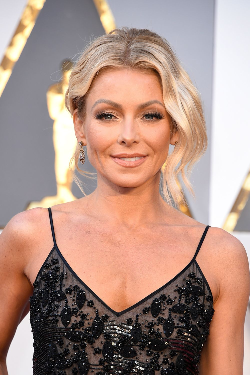 """Kelly Ripa """"I got Botox because people kept saying 'Are you OK' and I'm like, 'I'm fine, why?'"""" she revealed on Live with Kelly and Michael . 'You look like you're angry.'"""