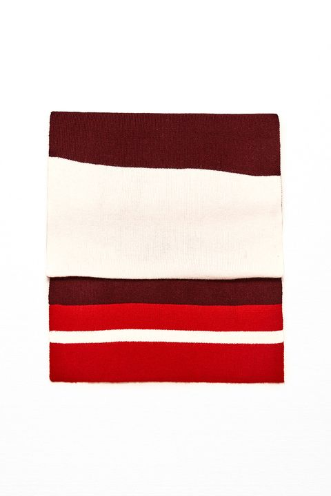 """<p>""""Tommy, Tommy, kinda.""""  </p>  <p>$26, <a href=""""http://www.zara.com/us/en/woman/accessories/scarves/college-style-scarf-c271013p3819567.html"""" target=""""_blank"""" data-tracking-id=""""recirc-text-link"""">zara.com</a>.</p>"""