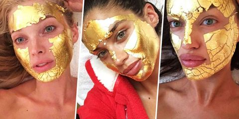 de5aab2b0c26b Victoria's Secret Gold Mask - Mimi Luzon 24 Karat Face Mask Review