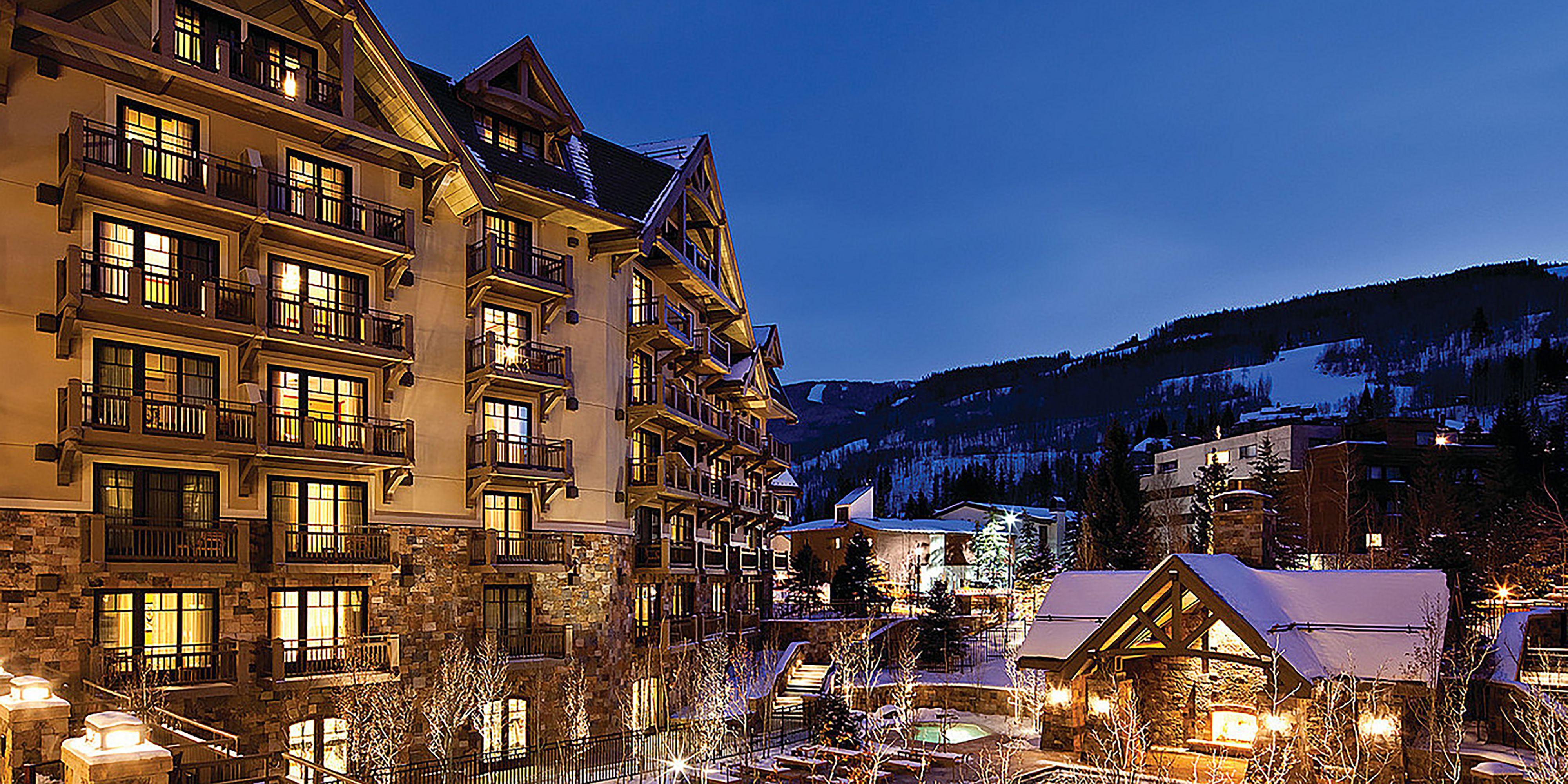 "<p><strong data-redactor-tag=""strong"">Where:</strong> Vail, CO </p><p><strong data-redactor-tag=""strong"">Why it's perfect for skiiers and non-skiiers: </strong>First, it's the Four Seasons. Second, it's Vail. All the usual ski amenities are top-notch, while the 5-star spa can't be missed. Feeling adventurous? You can head up to one of the region's legendary ""<span class=""highlight"" data-verified=""redactor"" data-redactor-tag=""span"" data-redactor-class=""highlight"">fourteeners"" (mountain peaks that exceed 14,000 feet) during an exclusive two-day adventure led by the local outdoor experts of Paragon Guides. Accompanied by llamas that carry gear and food, you'll journey to 11,000 feet to set up camp and enjoy a gourmet meal prepared by the resort's chefs. (Casual.) After spending the night in characteristic Four Seasons comfort, you'll embark for the summit of Mount of the Holy Cross. Or take it easy and grab a complimentary Mercedes to tour the city, or sip mulled cider at the pool bar as you chill (warm?) in the heated water. <a href=""http://www.fourseasons.com/vail/dining/?c=t&_s_icmp=mmenu"" target=""_blank"" data-tracking-id=""recirc-text-link"">Book it</a>. </span></p>"