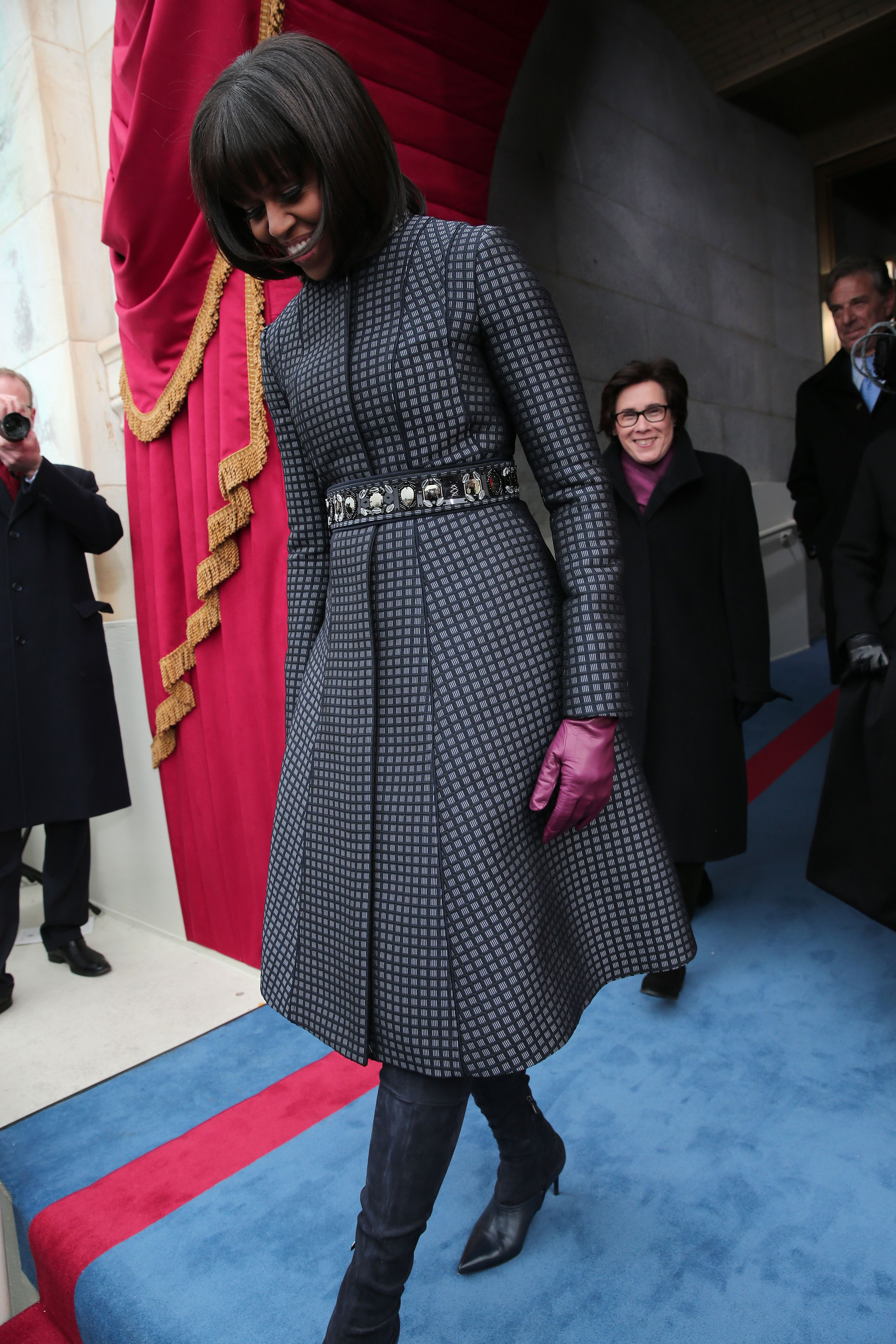 """<p>In Thom Browne and J.Crew in 2013<span class=""""redactor-invisible-space"""" data-verified=""""redactor"""" data-redactor-tag=""""span"""" data-redactor-class=""""redactor-invisible-space""""></span></p>"""