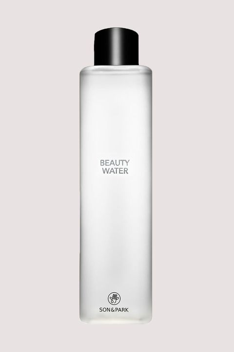 "<p>K-beauty has mastered the art of the multi-task. For proof, look no further than this toner and cleansing water hybrid. It's super gentle, yet sops up everything in its path with&nbsp;dead-cell-sweeping papaya extract and willow bark, and hydrates with&nbsp;lavender water, rosewater, and orange fruit extract.</p><p>Son &amp; Park Beauty Water, $30; <a href=""http://bit.ly/2ha7rEM"" target=""_blank"" data-tracking-id=""recirc-text-link"">sephora.com</a>.</p>"