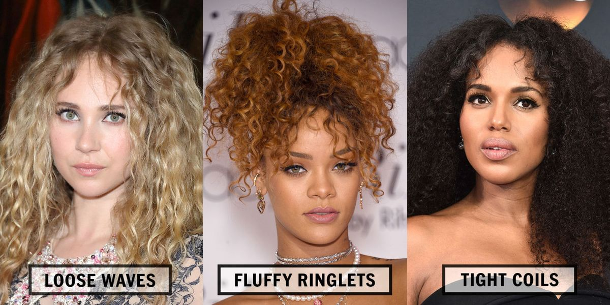 30 best celebrity curly hair types