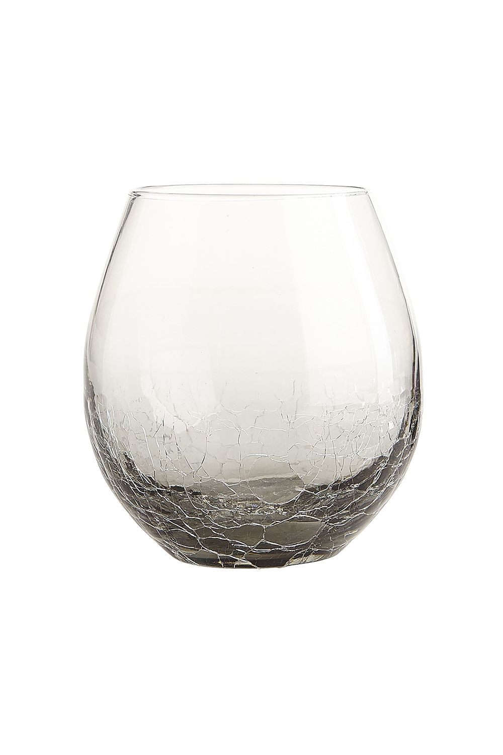 "<p>Matching set = you got it together, girl. </p><p>Pier 1 Crackle Smoke Stemless Wine Glass, $5; <a href=""http://www.pier1.com/crackle-smoke-stemware/PS51494.html"" target=""_blank"" data-tracking-id=""recirc-text-link"">pier1.com</a></p>"