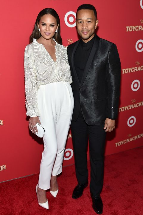 "chrissy teigen and john legend met on the set of his music video ""stereo"" in 2007 she told cosmopolitan, ""i'm not going to lie we hooked up,"" she admitted ""when he went on tour i left him by himself for a while the worst thing you can do is try to lock someone like that down early on, then have them think, there's so much more out there i played it cool for a long time never once did i ask, 'what are we' marriage was never my goal, because i've never been very traditional i was just happy to be with him"""