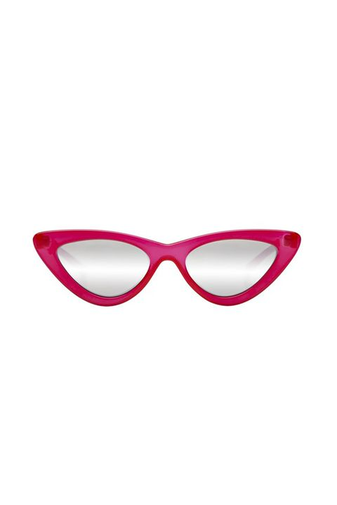 "<p>Actually named ""Lolita,"" these have been worn by Rihanna and Gigi Hadid.</p><p>$119, <a href=""https://lespecs.com/the-last-lolita-1502112-opaque-red-silver-mirror-las1502112"" target=""_blank"" data-tracking-id=""recirc-text-link"">lespecs.com</a>.</p>"