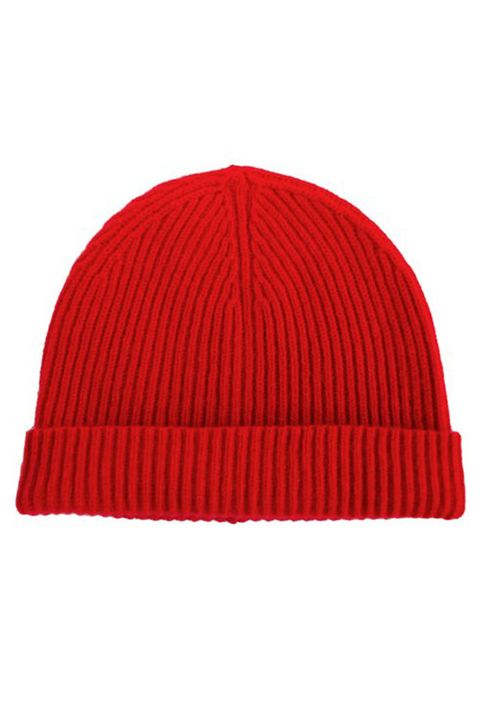 "<p>Super nice cashmere...ribbed for your pleasure. (I am so sorry.)</p><p>$65, <a href=""http://www.naadamcashmere.com/collections/women-accessories/products/anchorage-cashmere-beanie-red"" target=""_blank"" data-tracking-id=""recirc-text-link"">naadamcashmere.com</a>.</p>"
