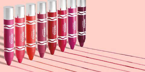 Red, Pink, Carmine, Magenta, Writing implement, Maroon, Lipstick, Coquelicot, Stationery, Cylinder,