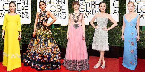 Clothing, Dress, Pattern, Flooring, Formal wear, Style, Waist, Fashion, One-piece garment, Day dress,