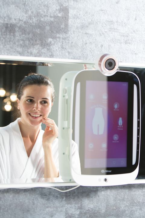 "<p>This magic&nbsp;mirror takes a photo and&nbsp;assesses your skin situation: wrinkles, dark circles, pores,&nbsp;fine lines—you name it. Based on what it ""sees,"" it'll suggest a personal improvement plan that includes&nbsp;products and skincare tips while also&nbsp;recording your progress so you can see what's really&nbsp;working for you. It's like having a live-in aesthetician. Hallelujah.&nbsp;🙌<span class=""redactor-invisible-space"" data-verified=""redactor"" data-redactor-tag=""span"" data-redactor-class=""redactor-invisible-space""></span></p><p>$259, <a href=""https://www.himirror.com/us_en/product/himirror-plus"" data-tracking-id=""recirc-text-link"">HiMirror.com</a> </p>"