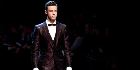 64aa64be02c3 All the Looks from Dolce   Gabbana Fall 2017 Men s Show - Dolce ...