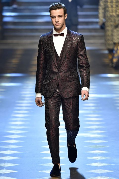 1dc5c0dd All the Looks from Dolce & Gabbana Fall 2017 Men's Show - Dolce ...