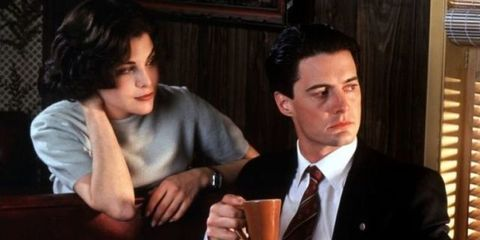 Audrey Horne and Dale Cooper in Twin Peaks