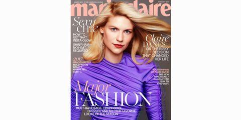 Hairstyle, Sleeve, Human body, Style, Eyelash, Jersey, Purple, Publication, Beauty, Brown hair,